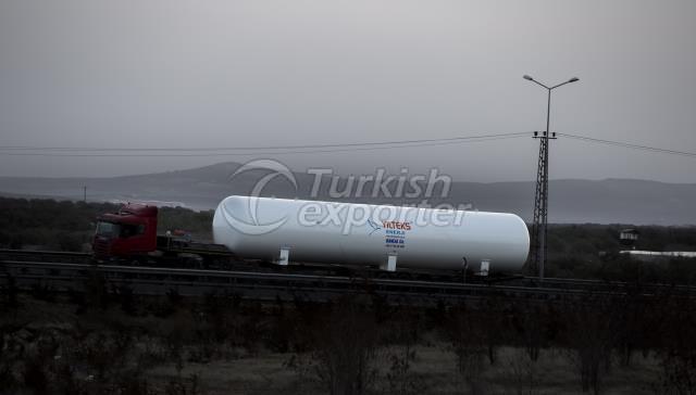 Yilteks New LPG Storage Tank