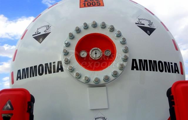 Ammonia Semi Trailer