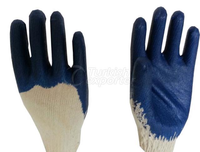 Navy Blue Nitrile Gloves