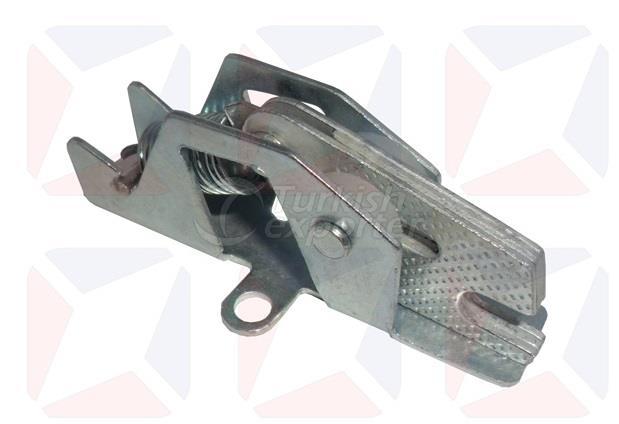 Luggae flap locks, locks