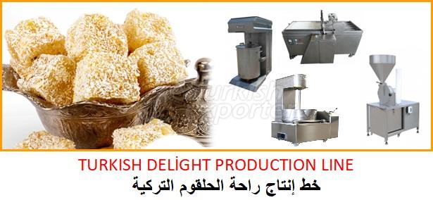 TURKISH DELİGHT PRODUCTION LINE