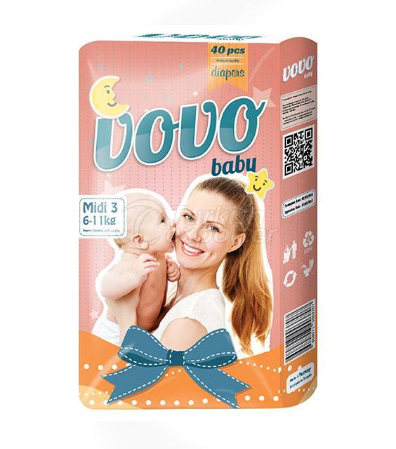 Vovo Baby Midi 6-11KG