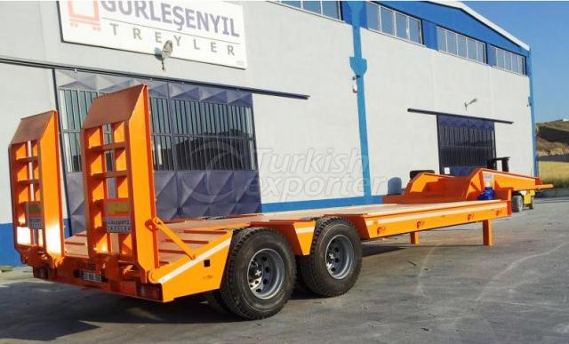 Low Loader With 2 Axles