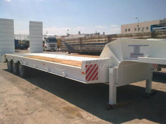 Semi Cargo Low Trailer