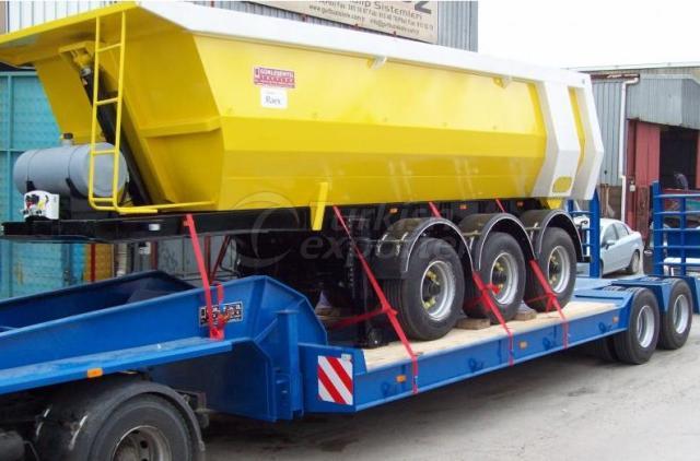 Vessel Type Dumper Trailer
