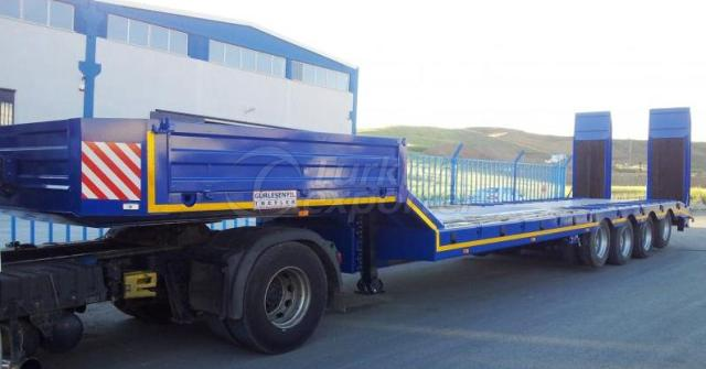 Low Trailer With 4 Axles