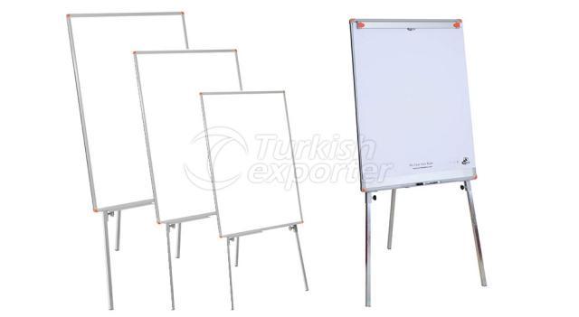 Enamel Whiteboard with Tripod Stand