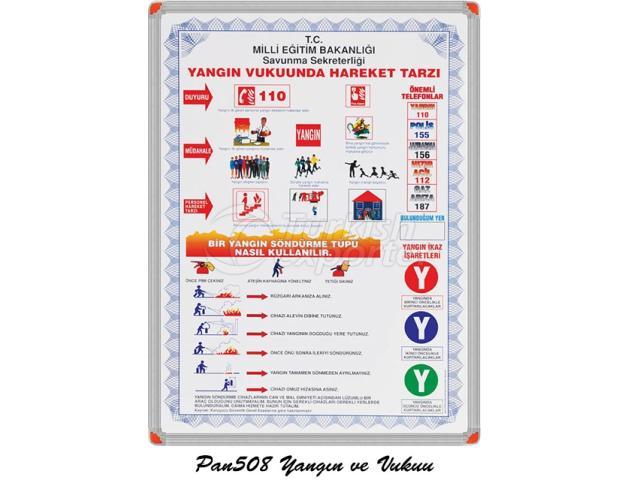 Warning and Alarm Panels