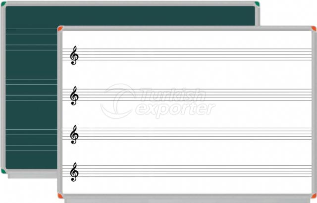 Laminated Whiteboard with Grid Line