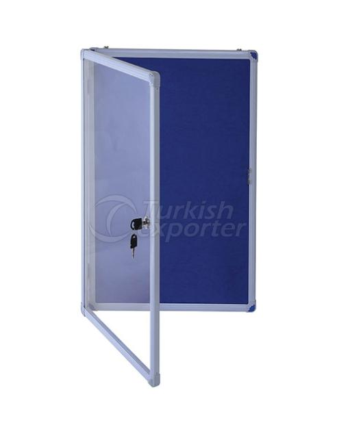 Aluminium Thin Display Case