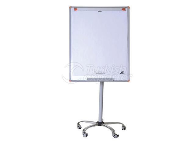 Mobile Enamel Flipchart Board