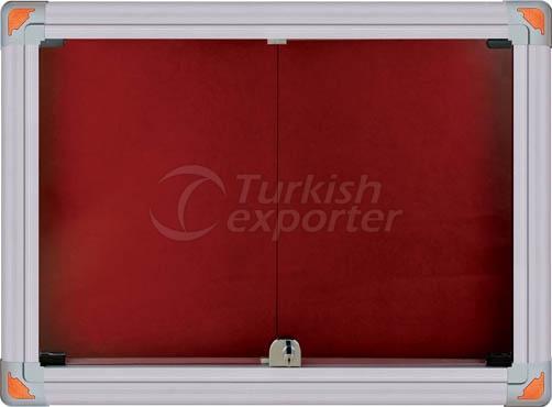 Aluminum Panel Display Case