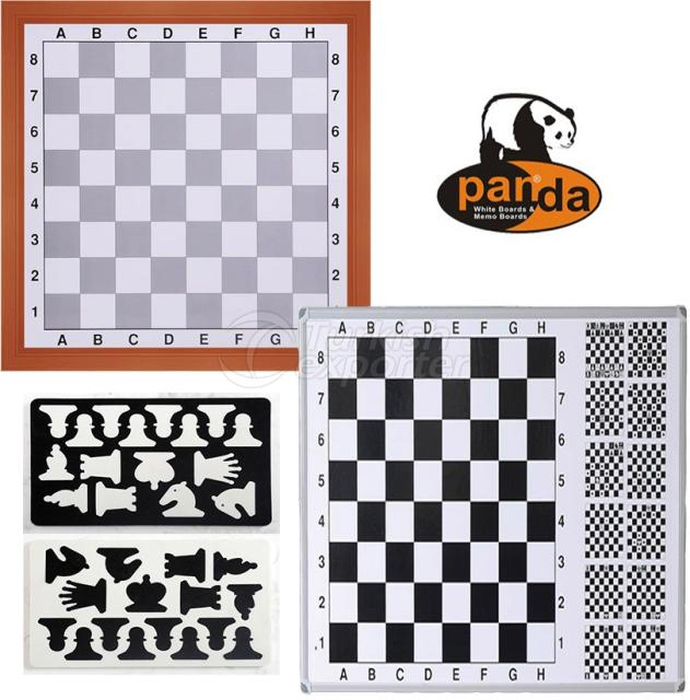 Wall Mounted Magnetic Chessboard