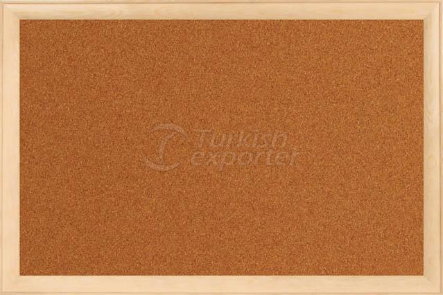 Wooden Framed Cork Boards
