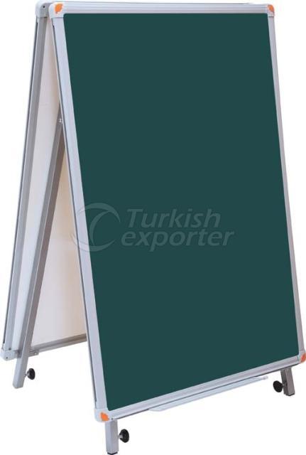 Double Sided Laminated Chalkboard