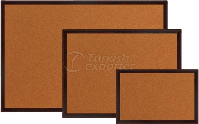 MDF Frame Cork Board