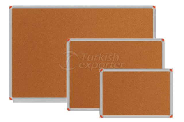 Aluminium Frame Cork Boards