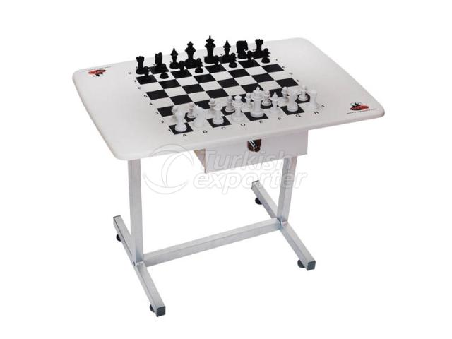 Chess Board with Movable Stand