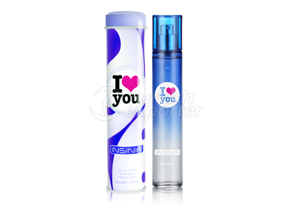 Perfume Women 50ml Insinia I Love You