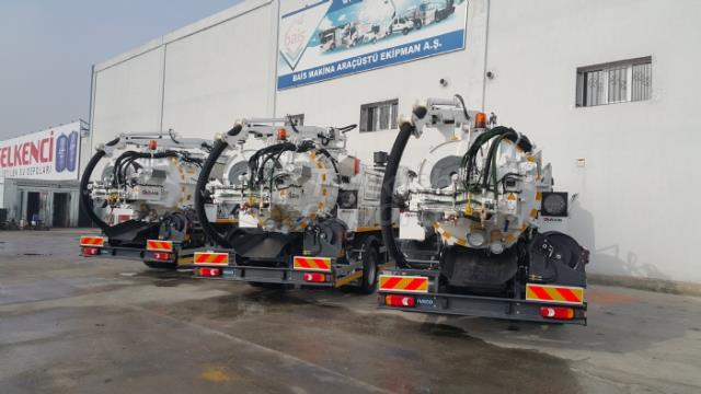 Combined Canalization Vehicles