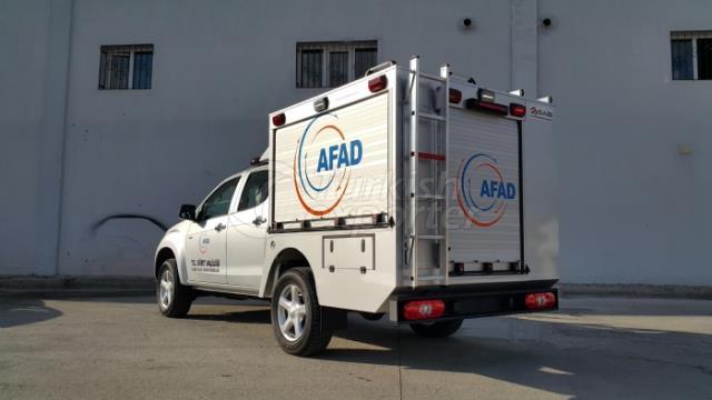 First Responder Vehicles ISUZU D-MAX