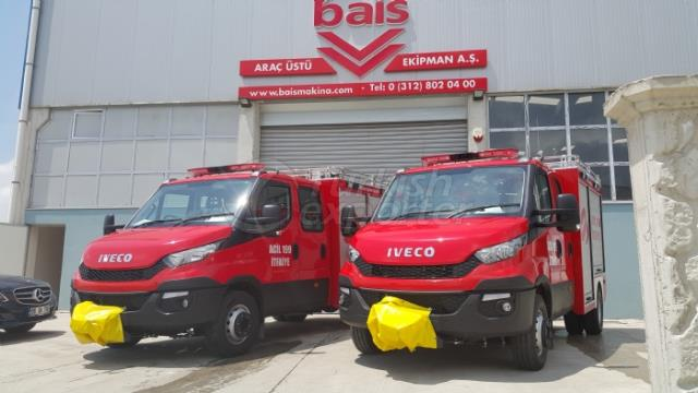 First Responder Vehicles IVECO DAILY