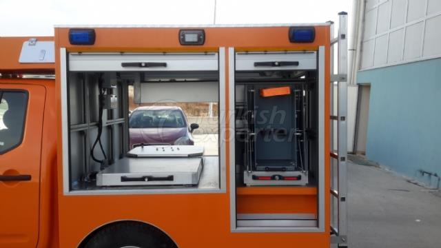 First Responder Vehicles NİSSAN NAVARRA