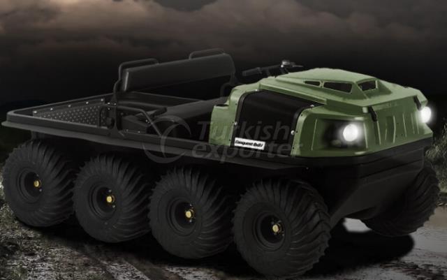 Argo Amphibious Vehicles Conquest 8x8XTI