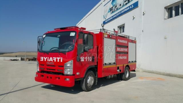 Fire-Fighting Vehicle For Confined Space