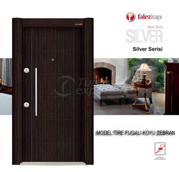 Steel Door Tire Fugalı Koyu Zebran