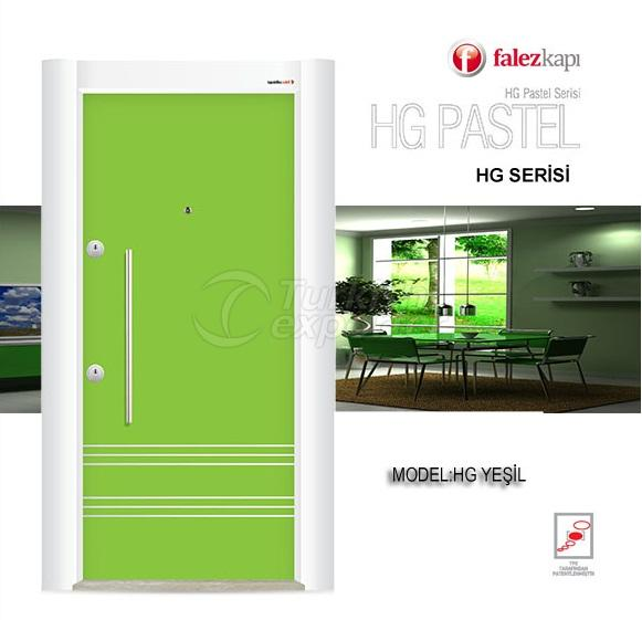 Steel Door Hg Pastel Yesil
