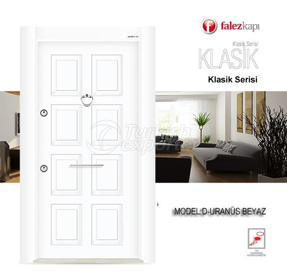 Steel Door Uranus Beyaz
