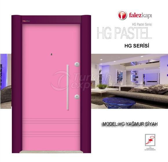 Steel Door Hg Pastel Pembe