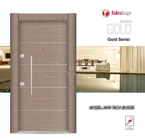 Steel Door Akik Inox Bosse