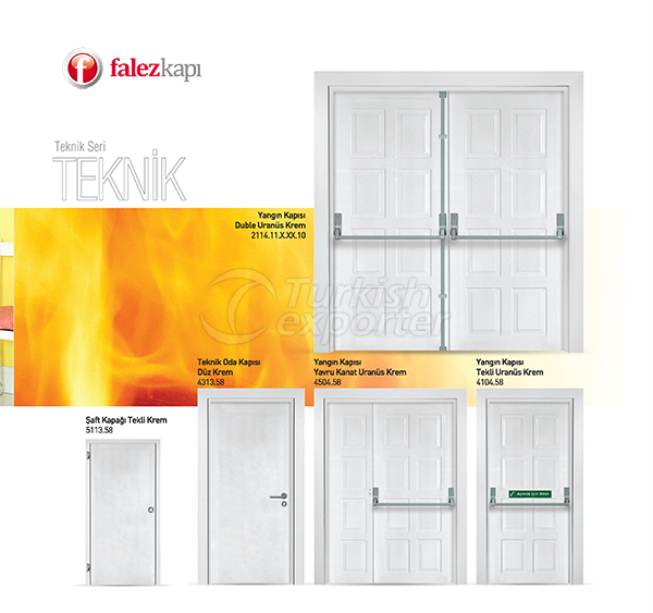 Fire Exit and Technical Doors