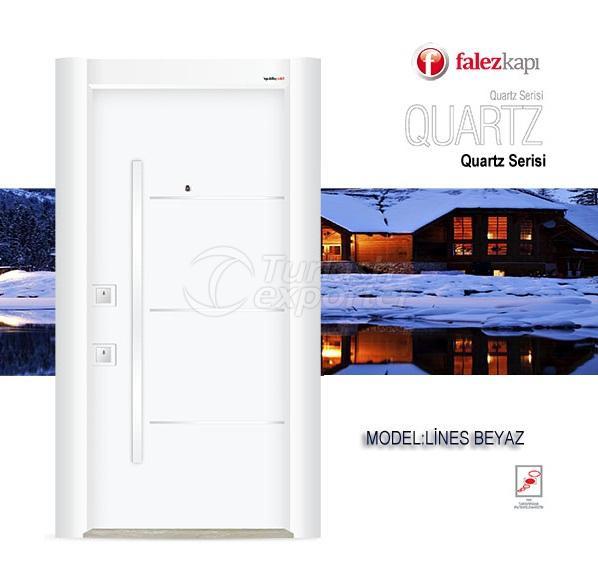 Steel Door Lines Beyaz