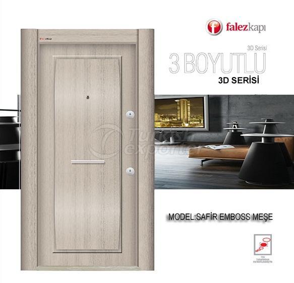 Steel Door Safir Emboss Mese