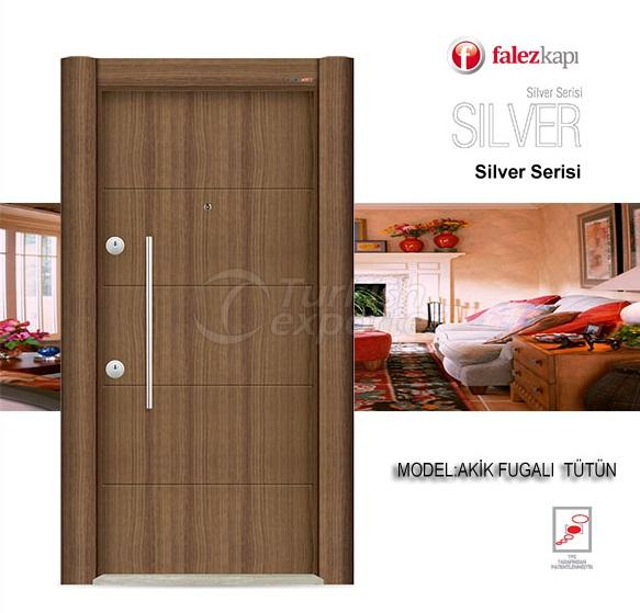 Steel Door Akik Fugalı Tutun