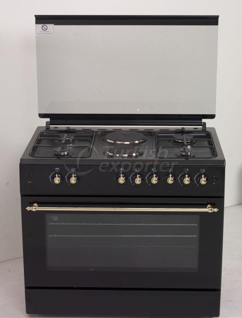 60x90 retro style cooker