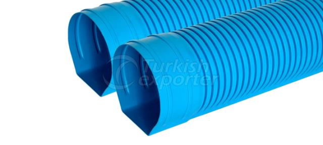 Tunnel Type Drainage Pipe