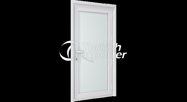 PVC Locking Door