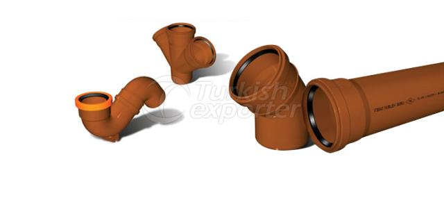 Sewage Pipe Fitting