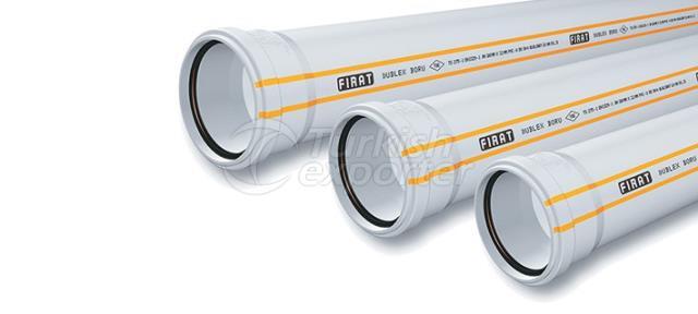 Sewage Pipe Fırat PVC Dublex