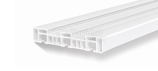 PVC Curtain Rail