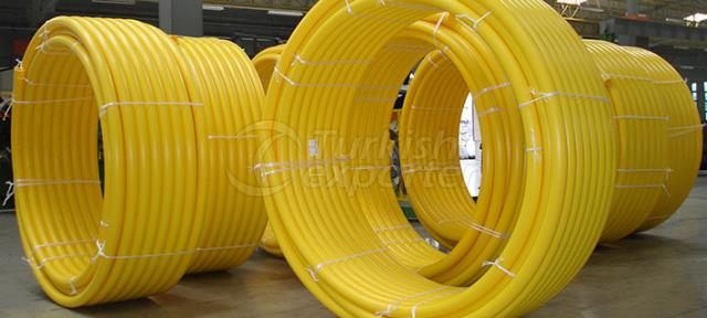 Natural Gas Pipe PE 80