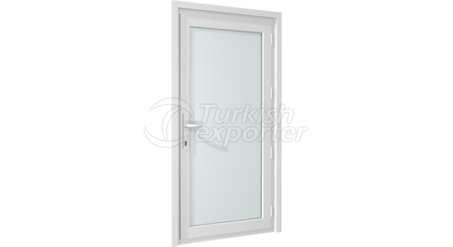 PVC Locking Door