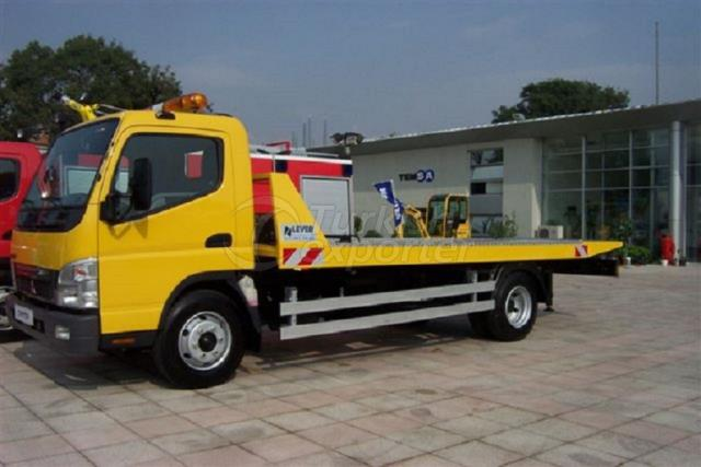 Sliding Platform Rescue Vehicle