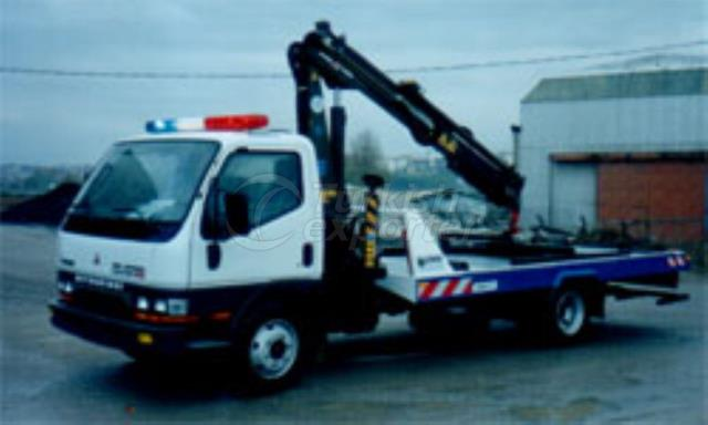 Rescue Vehicle With Crane