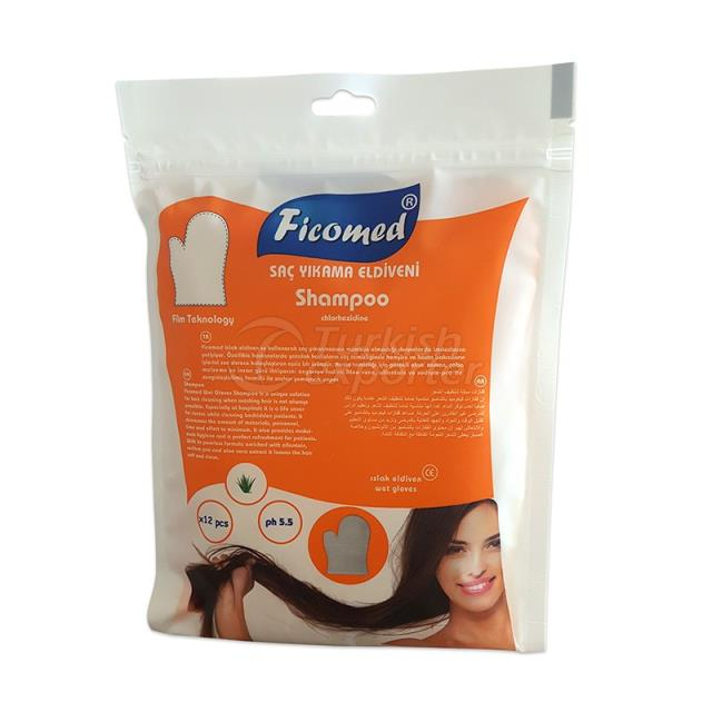 Ficomed Hair Washing Gloves