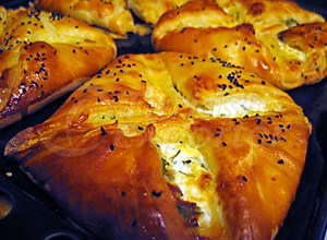 Pastry with Cheese-Potato